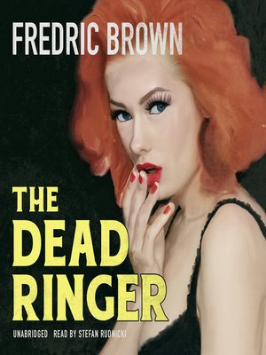 cover image of The Dead Ringer